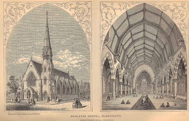 Blackheath Chapel 1864 | Wesleyan Chapel Committee