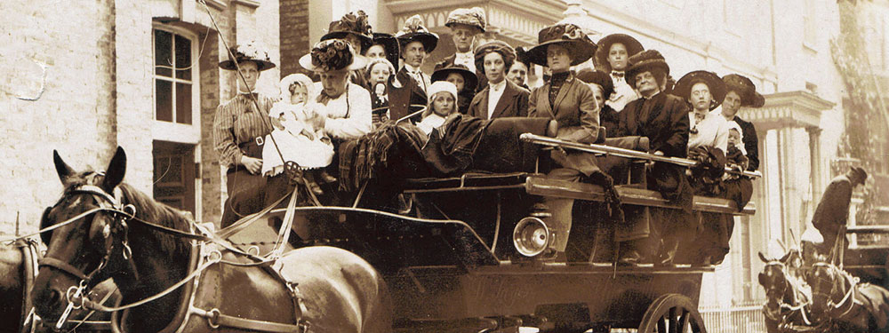 Slideshow: Wesley Church Outing, 1913