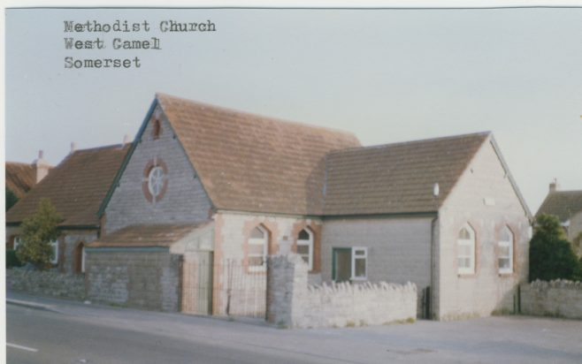 West Camel Wesleyan Methodist chapel | Englesea Brook Museum postcard collection