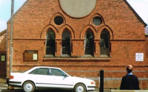 Cheadle Wesleyan Methodist chapel