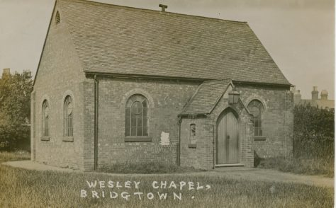 Bridgtown (Bridgetown) Wesleyan Methodist chapel