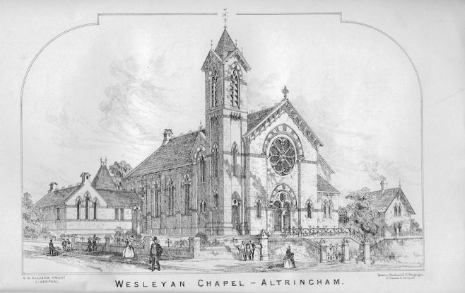 Altrincham, Bank Street Wesleyan Methodist chapel | Wesleyan Chapel Committee