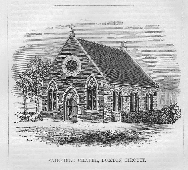 Fairfield Chapel, Buxton, Derbyshire | Wesleyan Chapel Committee