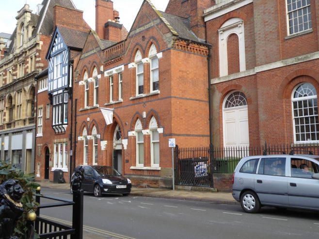 Leicester, Bishop Street Wesleyan Schools, general view, 16.3.2019