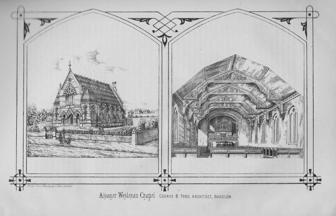 Alsager, Wesley Place | Wesleyan Chapel Committee