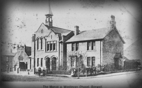 Newcastle: Bond Memorial WM Chapel and Manse, Benwell. Northumberland