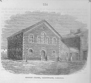 Carlisle, Caldewgate Wesleyan Chapel | Wesleyan Chapel Committee