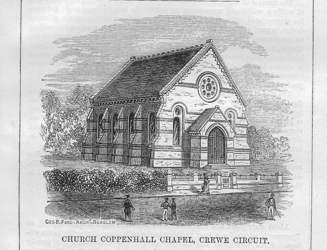 Church Coppenhall, Crewe Circuit | Wesleyan Chapel Committee