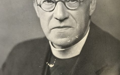 Rev Henry Carter, pioneer of the Methodist Refugee Fund (forerunner of All We Can)