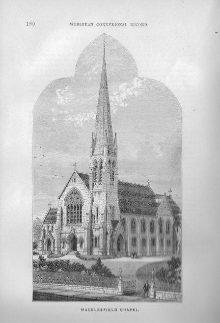 Macclesfield, Trinity Wesleyan Chapel