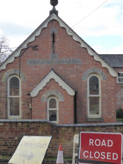 Mowsley Wesleyan Chapel, facade, 3.11.2018