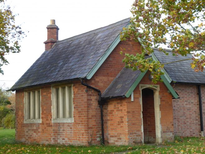 Possible Wesleyan Chapel at Laughton,  3.11.2018