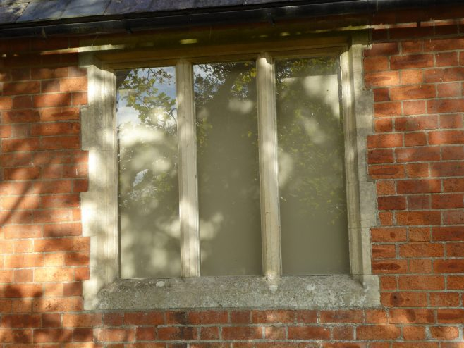 Possible Wesleyan Chapel at Laughton, window  3.11.2018