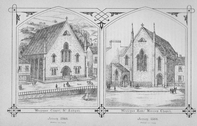 St. Aubin, and Seaton Place St. Helier, Jersey | Wesleyan Chapel Committee