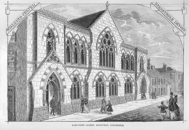 Barnstaple, Boutfield Street Wesleyan chapel | Wesleyan Chapel Committee, 1868