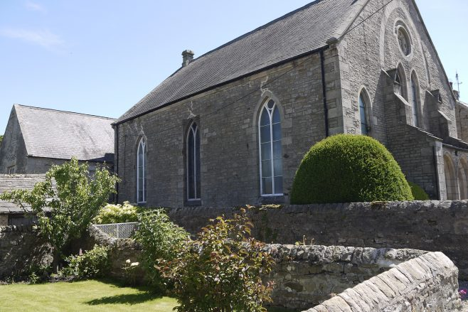 Cotherstone chapel: a side view   Philip Thornborow, 2018