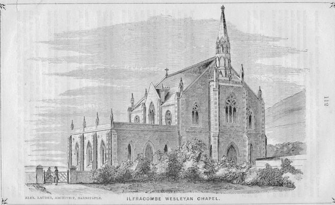 Ilfracombe Wesleyan chapel 1863-1898 | Wesleyan Chapel Committee, 1864