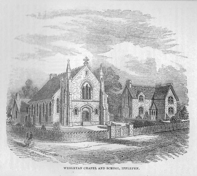 Ipplepen Wesleyan chapel, Devon | Wesleyan Chapel Committee, 1868