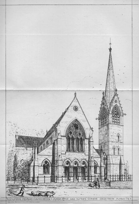 Launceston Wesleyan chapel | Wesleyan Chapel Committee, 1872