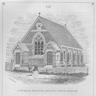 Lychett Minster Wesleyan chapel, Poole Circuit | Wesleyan Chapel Committee, 1866
