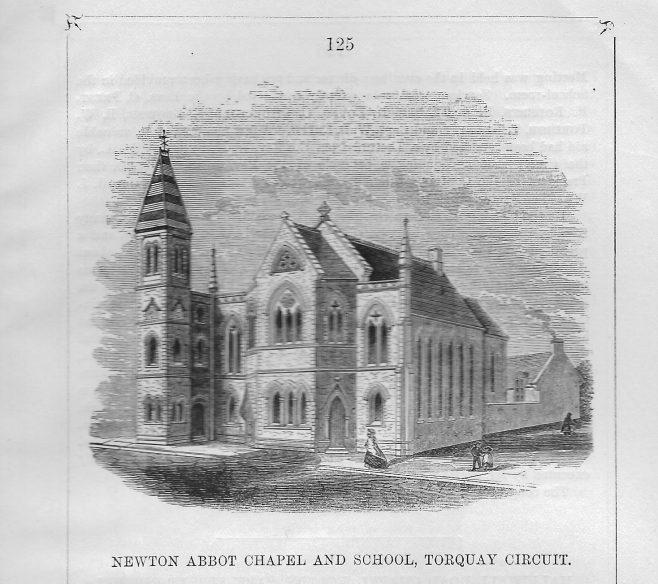 Newton Abbot, Courteney Street | Wesleyan Chapel Committe, 1869