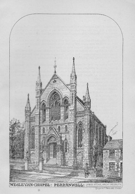 Perrnanwell Wesleyan Chapel   Wesleyan Chapel Committee, 1880