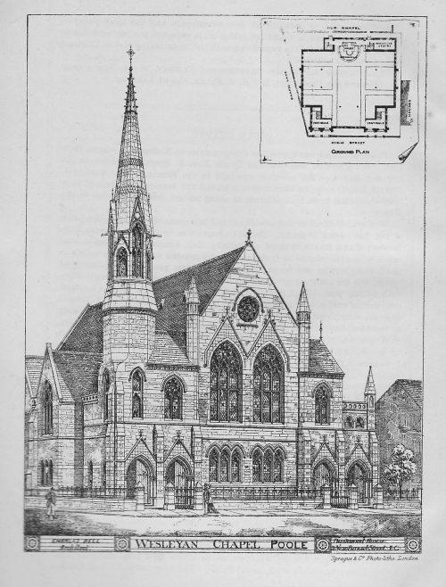 High Street Wesleyan Chapel, Poole | Wesleyan Chapel Committee, 1880