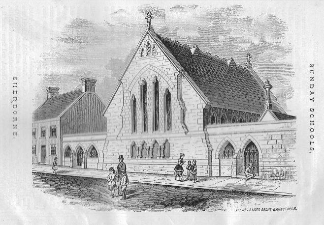 Sherborne Wesleyan Sunday School   Wesleyan Chapel Committee, 1872