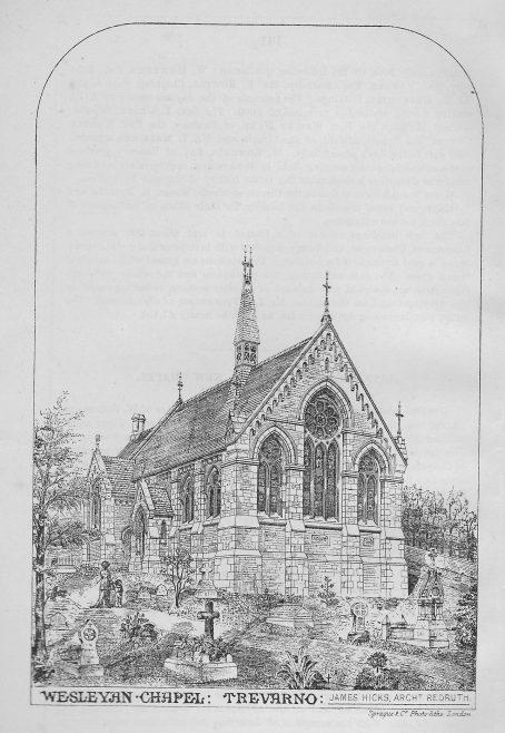 Trevarno, Chynhale Wesleyan Chapel   Wesleyan Chapel Committee, 1880