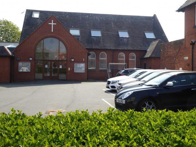 1. Loughborough, Ashby Road WM Chapel, site of chapel, 17.4.2019