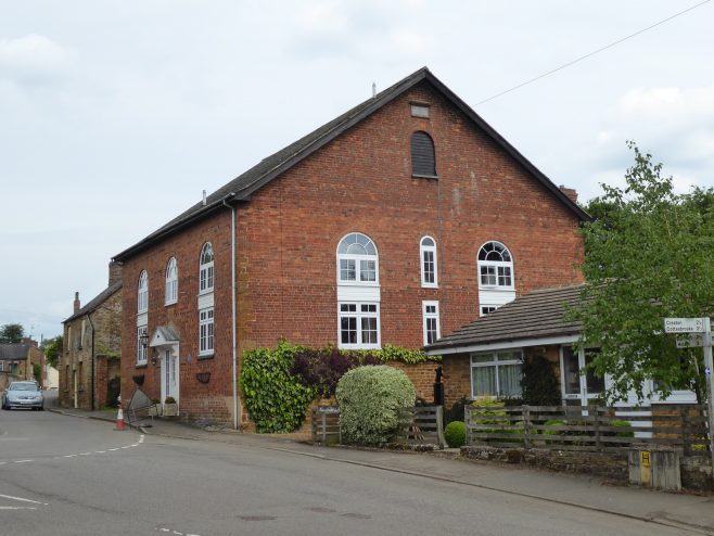 Brixworth WM chapel, west gable, 25.05.2019 (2)
