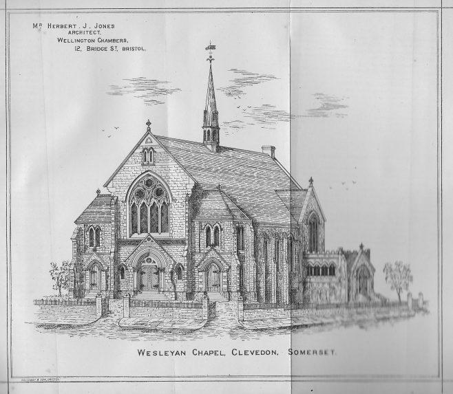 Clevedon Wesleyan Chapel | Wesleyan Chapel Committee, 1882
