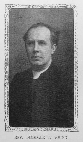 Rev. Dinsdale  T. Young