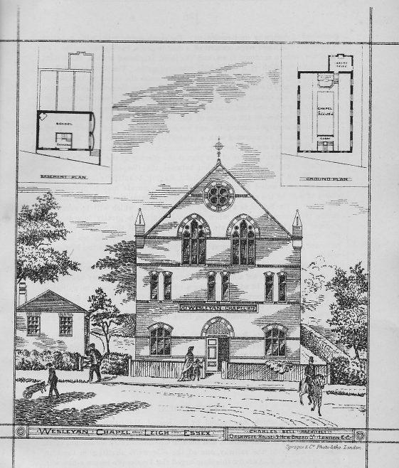 Leigh Wesleyan Chapel, Essex | Wesleyan Chapel Committee, 1880