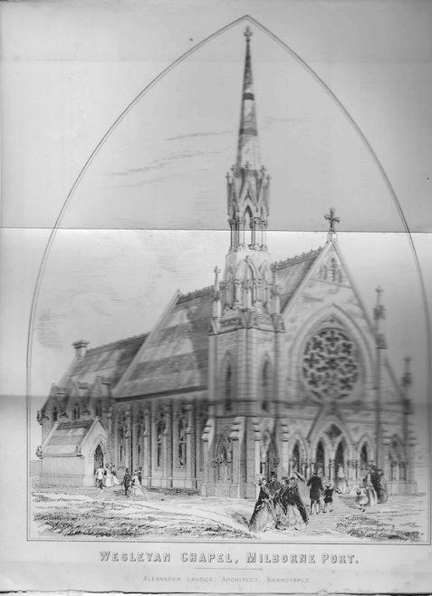 Milborne Port Wesleyan | Wesleyan Chapel Committee, 1866