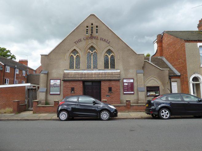 Northampton, Osborne Road WM chapel, facade,14.6.2019