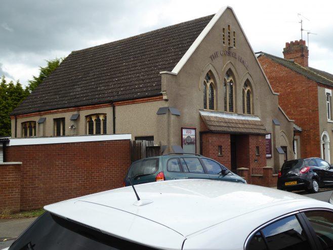 Northampton, Osborne Road WM chapel, general view,14.6.2019