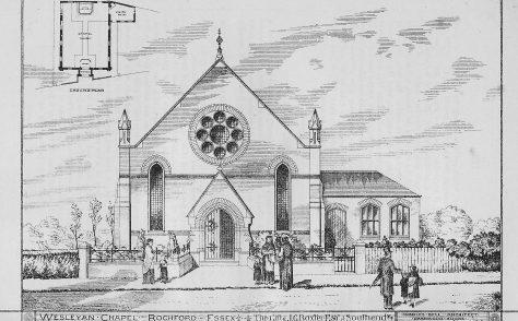 Rochford Wesleyan chapel