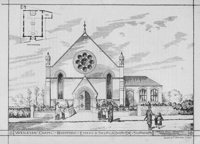 Rochford Wesleyan Methodist chapel | Wesleyan Chapel Committee, 1880