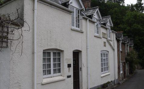 Dunster, Ebenezer Wesleyan chapel and the Wesleyan School, Mill Lane