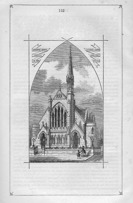Yeovil Wesleyan Methodist chapel, Vicarage Street | Wesleyan Chapel Committee, 1869