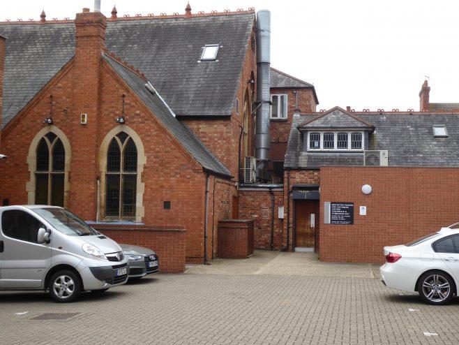 3 Northampton, Stimpson Road, WM Chapel, back of school, 10.7.2019