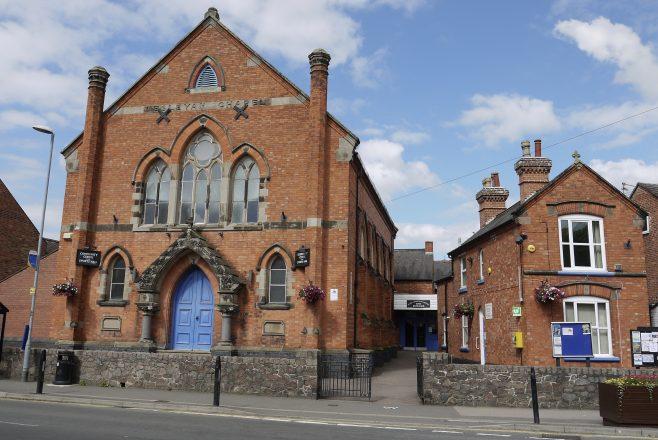 Sileby, the Wesleyan chapel complex   Philip Thornborow, 2019