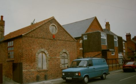 East Bridgford Wesleyan Methodist chapel