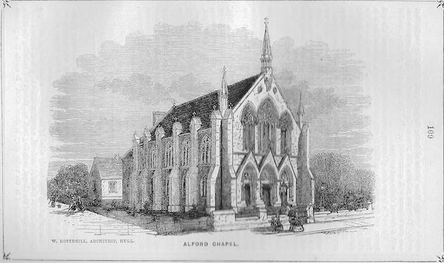 Alford, West Street   Wesleyan Chapel Committee, 1865
