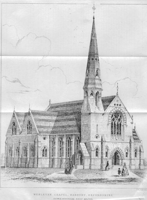 Marlborough Road, Banbury | Wesleyan Chapel Committee, 1864