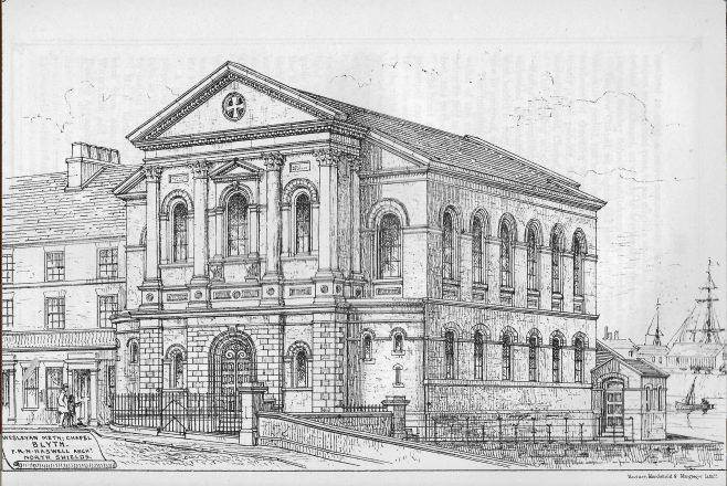 Blyth, Bridge Street | Wesleyan Chapel Committee, 1868