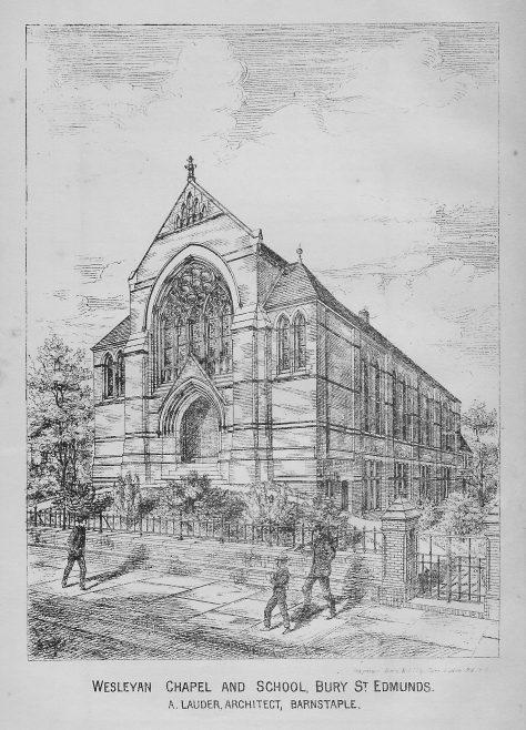Bury St. Edmunds   Wesleyan Chapel Committee, 1878