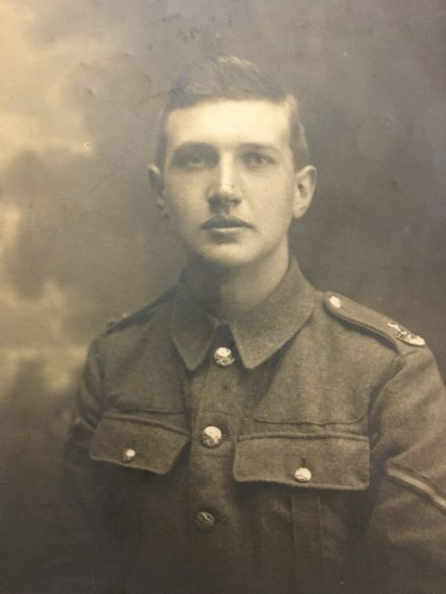 Private 41407 Lance Corporal Cecil George Dunkerley- 2nd Manchester's