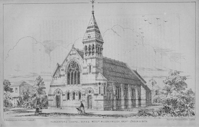 Hungerford, Bath Road | Wesleyan Chapel Committee, 1869